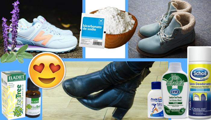 6 trucos para quitar el mal olor de los zapatos