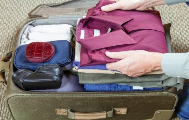 Cómo evitar que la ropa se arrugue en la maleta