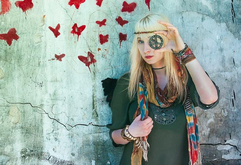 vestimenta hippie